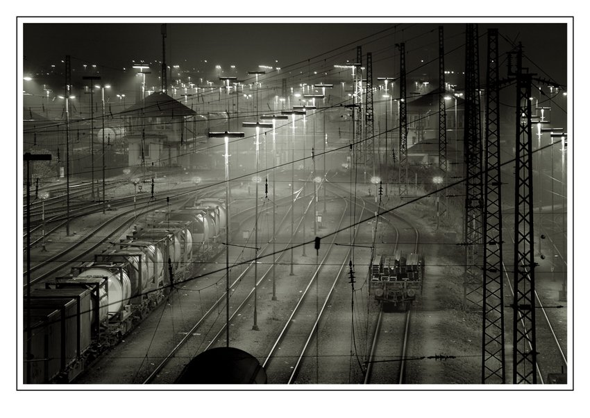 Rangierbahnhof in S/W