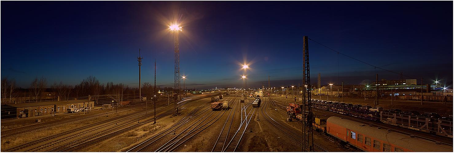 ... Rangierbahnhof Leipzig-Engelsdorf ...