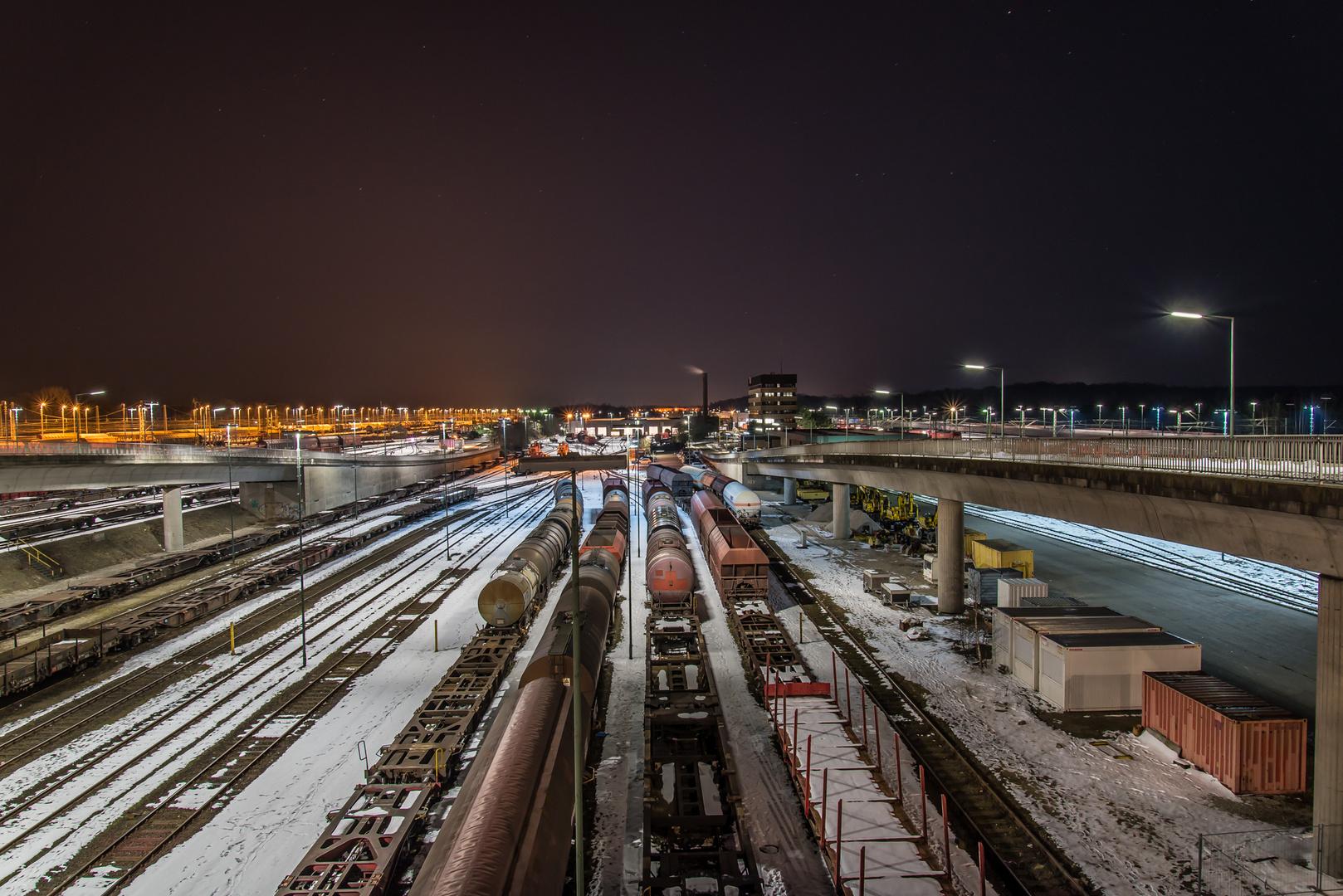 Rangierbahnhof Maschen Winter 3