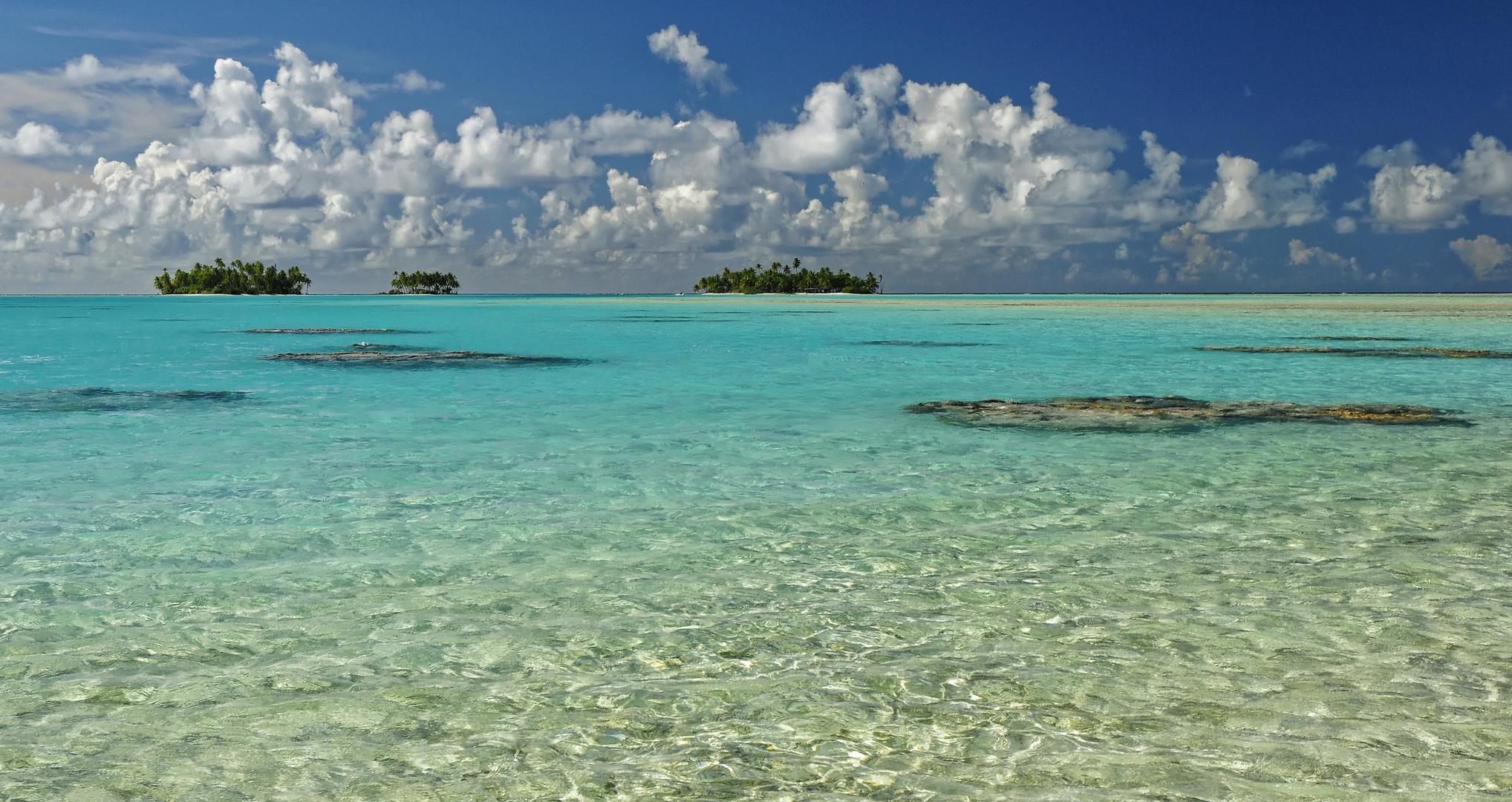 Rangiroa Atoll Tahiti Oceania