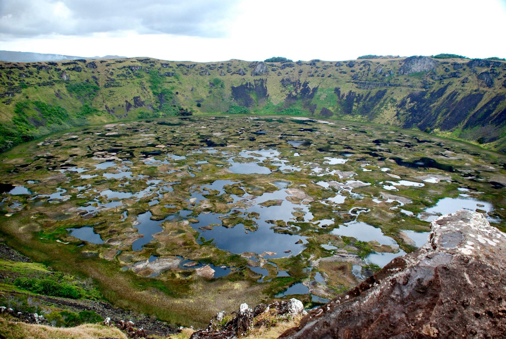 Rano Kau-Isola di Pasqua