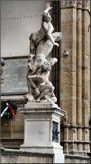 Rape of a sabine, by Giovanni da Bologna (1583)