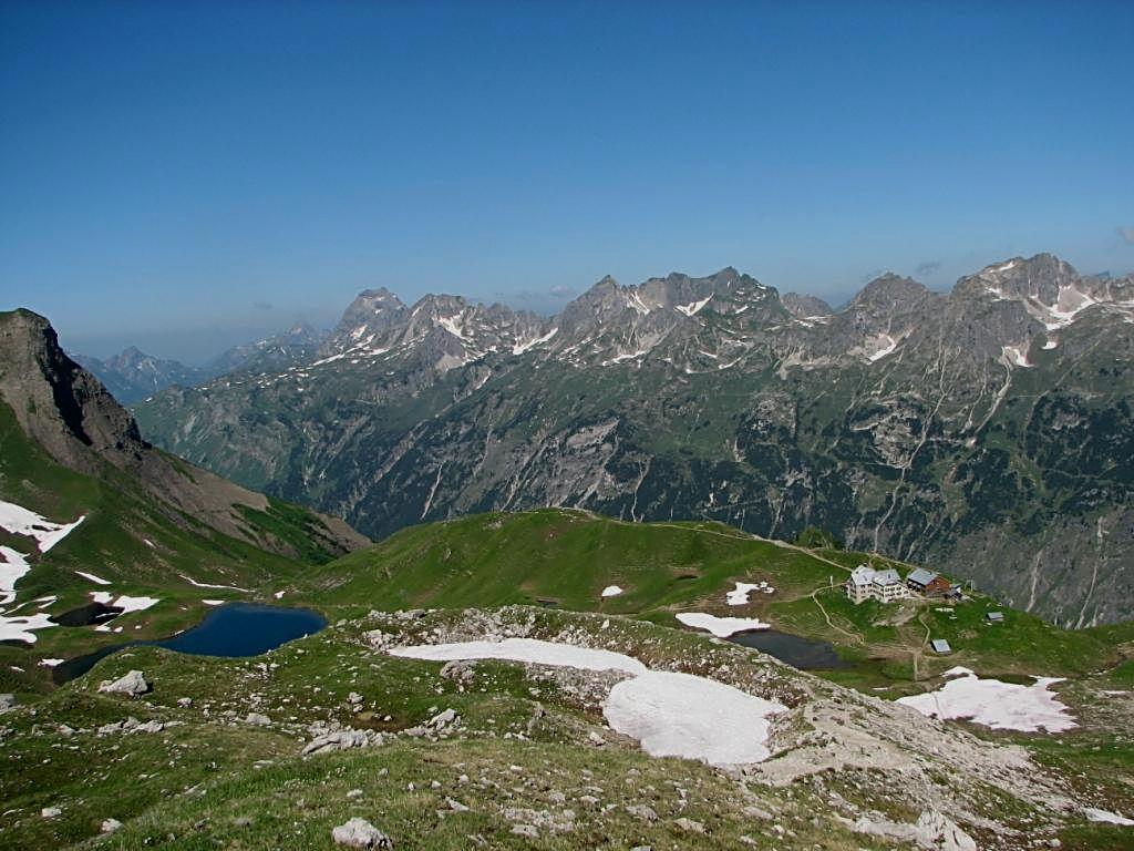 Rappensee Hütte 2.091 m
