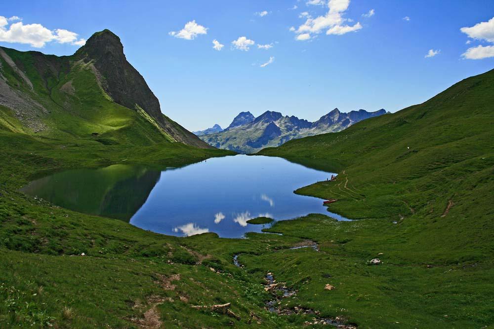 Rappensee in den Allgäuer Alpen