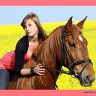 Rapsody mit Pferd
