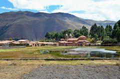 Raqchi war einst eine Tempelanlage der Inkas.