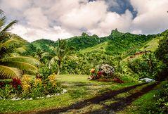 Rarotonga Inselansicht