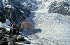 Rast am Chungphar-Gletscher von Markus Bibelriether