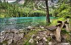 Rast am grünen See