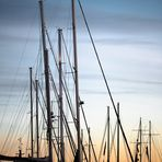 Rastende Segelboote