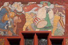 Rathaus Basel Detail