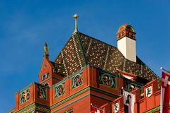 Rathaus Basel Detailansicht