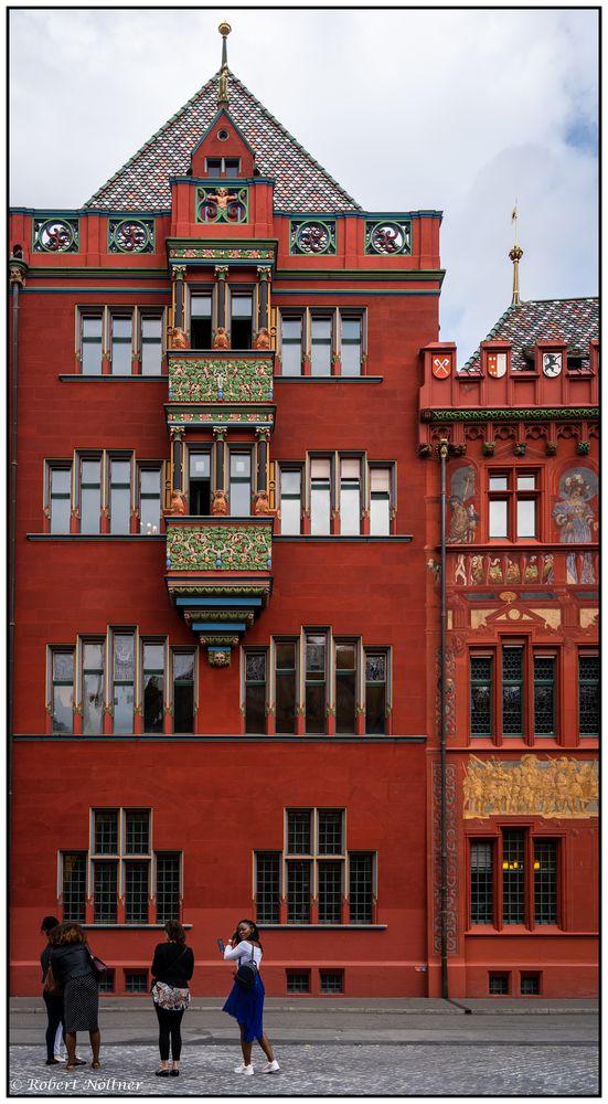 Rathaus Basel - Detailansicht