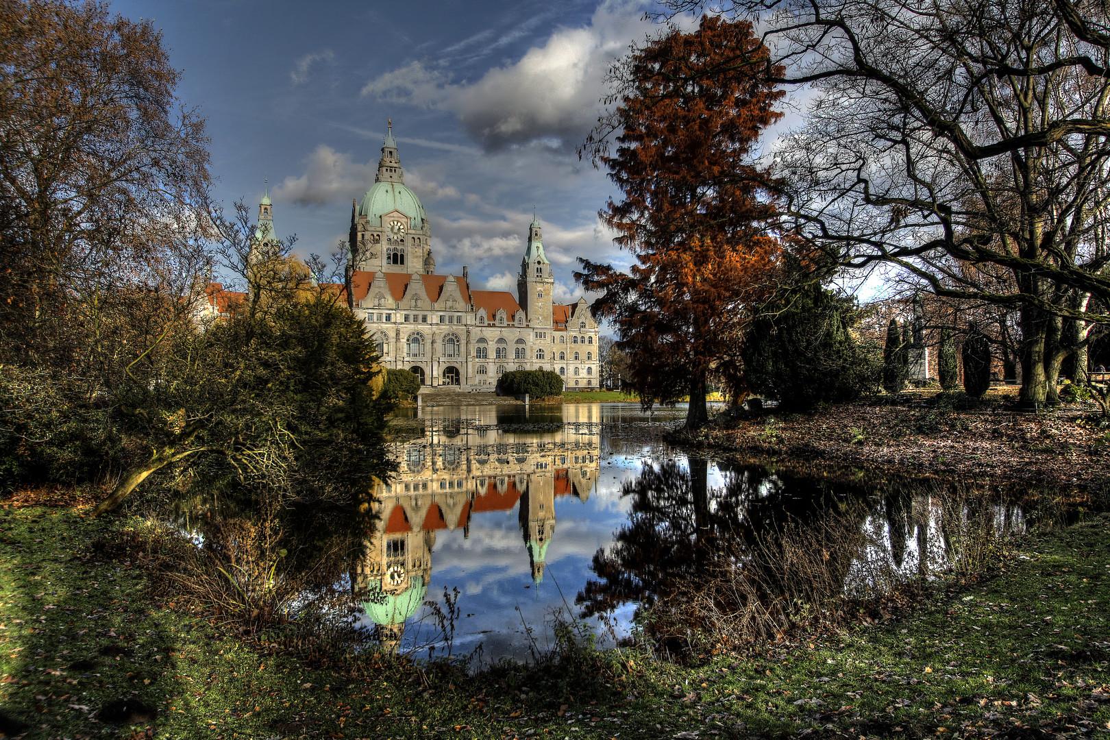 Rathaus Hannover .