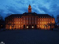 Rathaus Herne in der Nacht