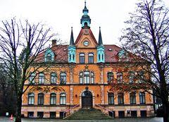 Rathaus im Weihnachtsgewand