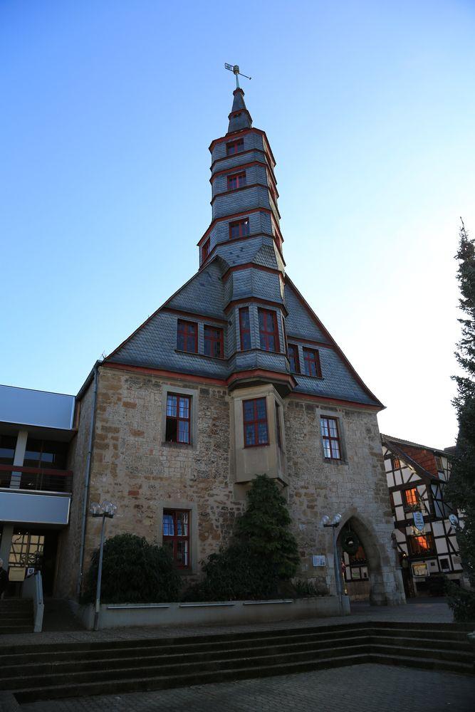 Rathaus in Korbach (Nordhessen) (I)