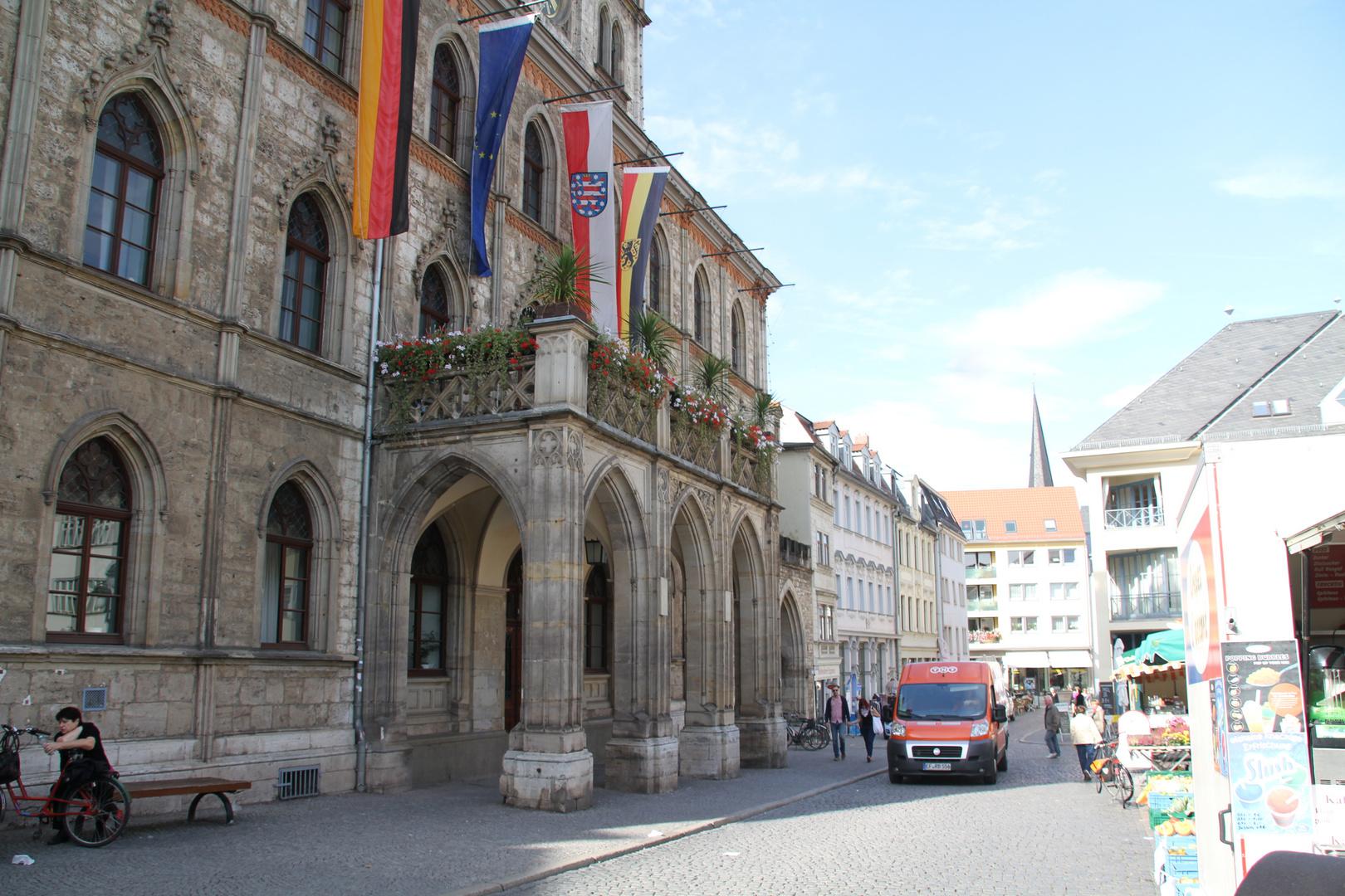 Rathaus in Weimar Thüringen