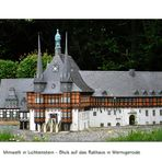 Rathaus in Wernigerode
