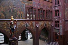 Rathaus-Innenhofansicht