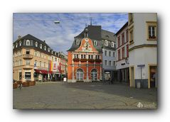 Rathaus / Marktplatz in Wittlich