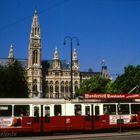 Rathaus mit Tram