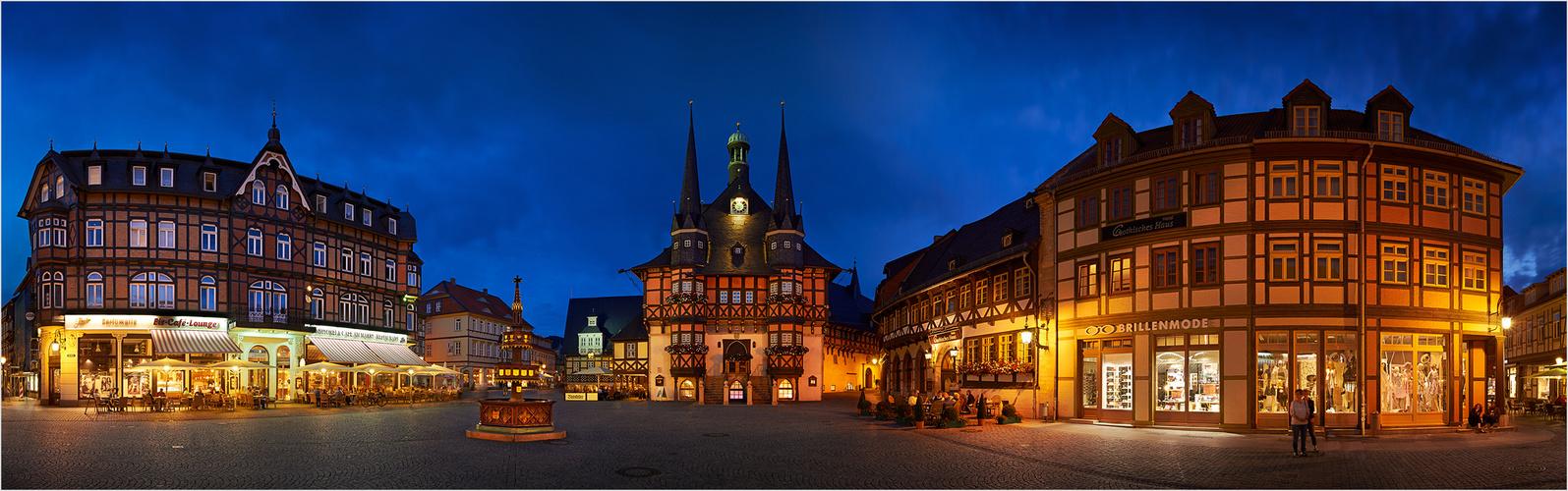 Rathaus und Markt in Wernigerode