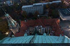 Rathaus von oben