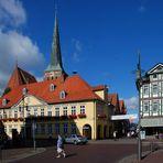 Rathaus vor Marienkirche, Uelzen