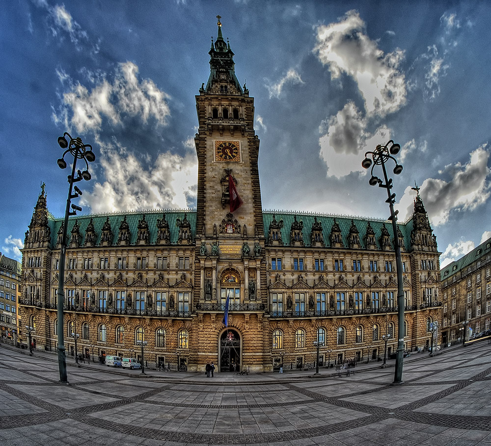 Rathaus zu Hamburg
