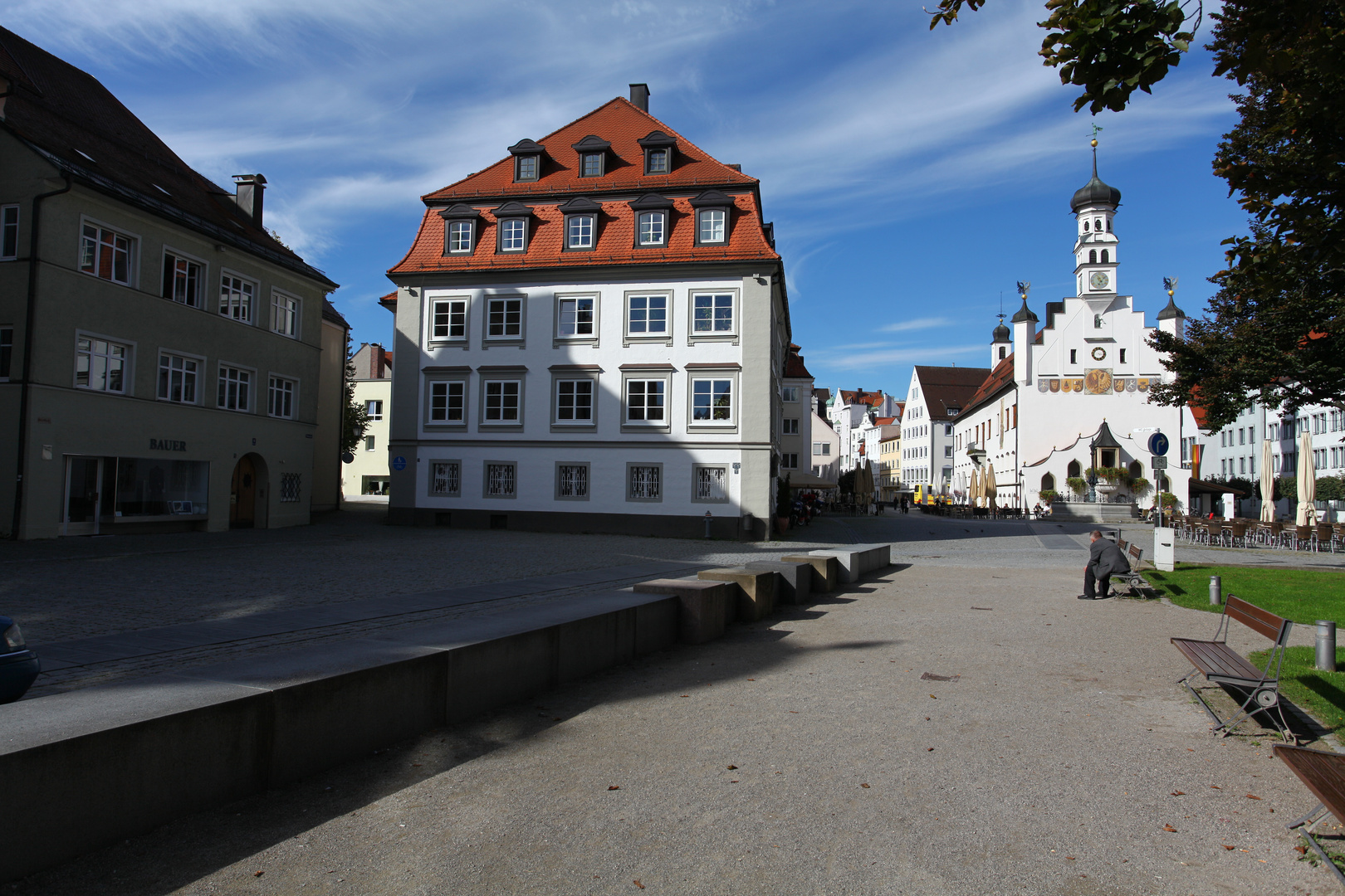 Rathausplatz in Kempten
