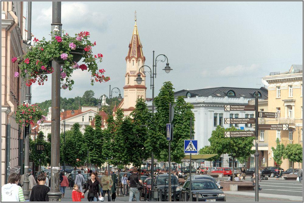Rathausplatz in Vilnius