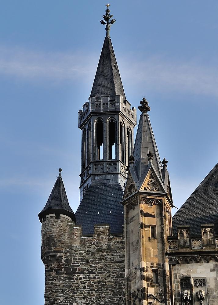 Rathaustürme zu Aachen