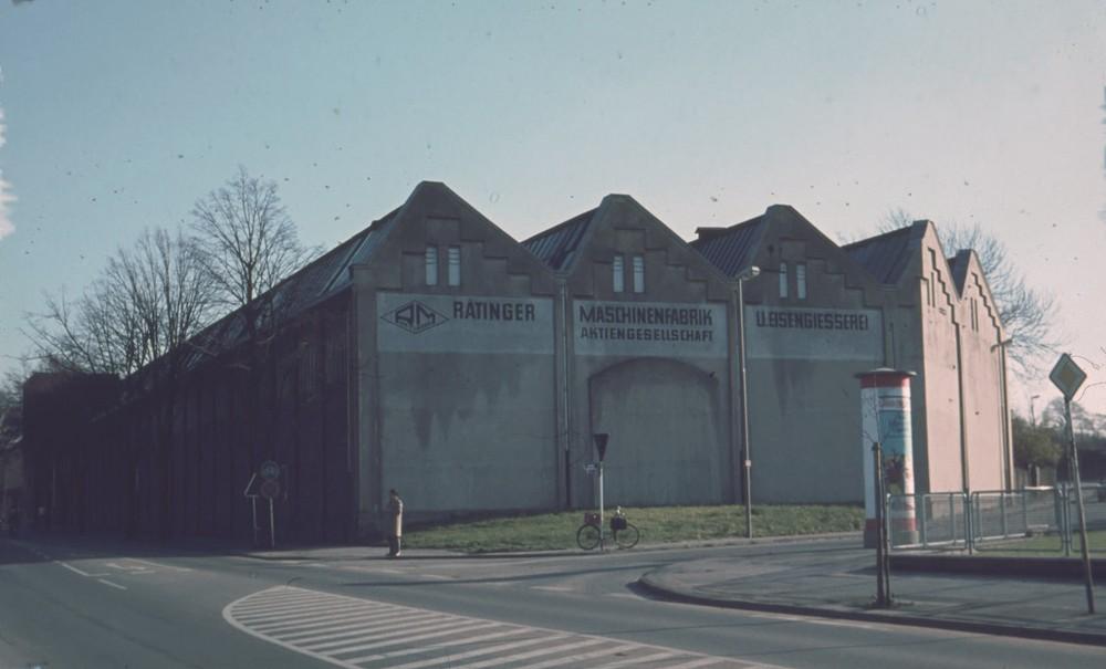 RATINGER INDUSTRIEGESCHICHTE - Ratinger Maschinenfabrik und Eisengiesserei