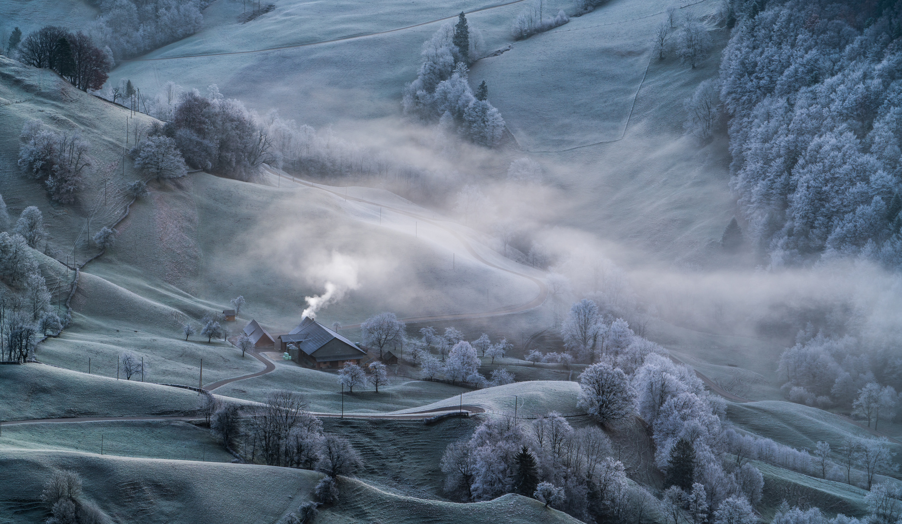 Rauch, Nebel und Raureif!