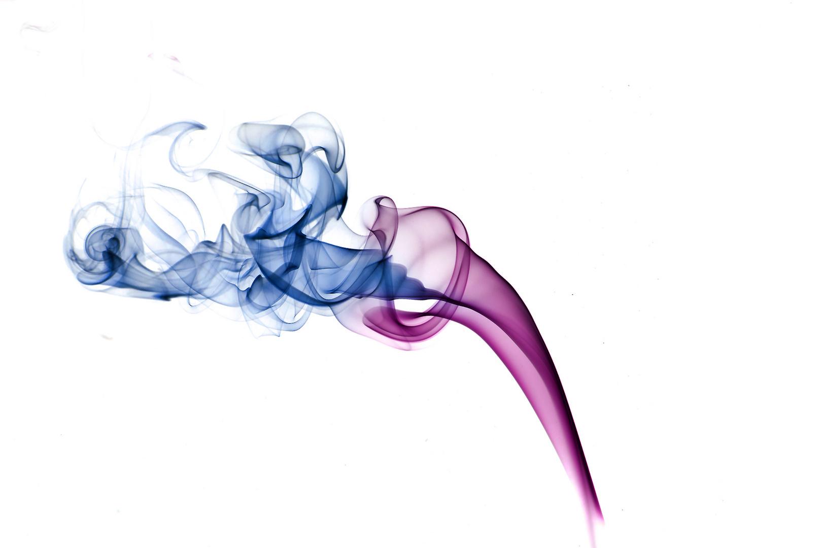 Rauch umgekehrte Farben