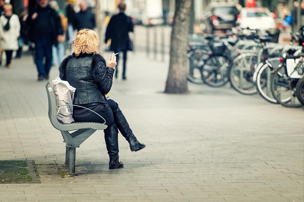 Rauchen macht einsam...