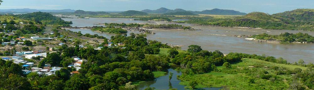Raudales de Atures, Rio Orinoco, Venezuela