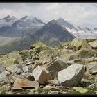 Rauhe Bergwelt am Aletschgletscher