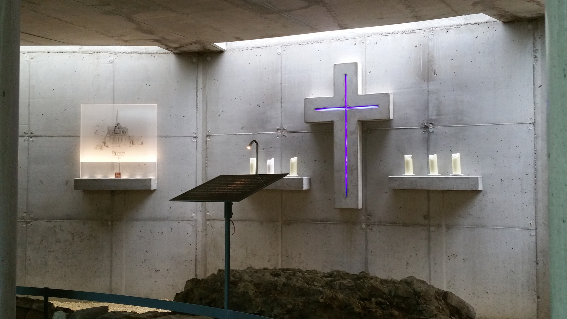 Raum der Stille im Kloster Ihlow
