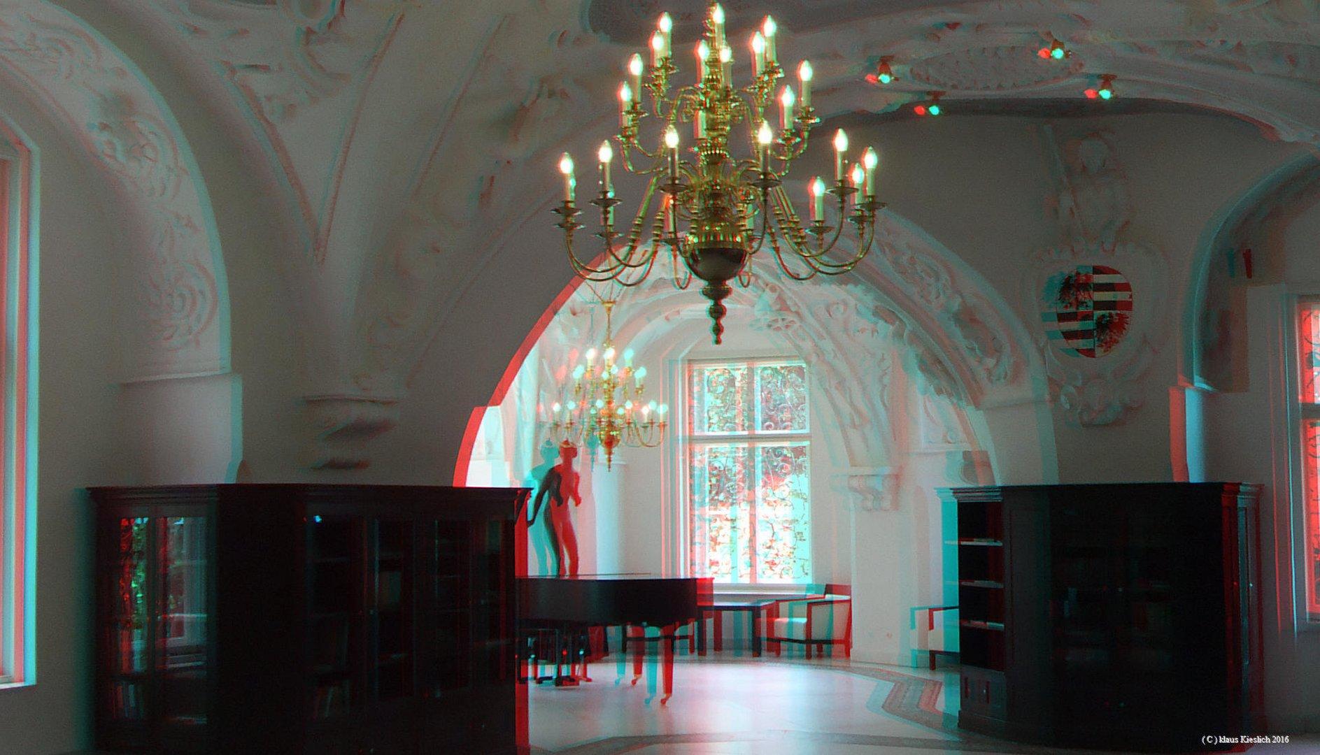 Raum im Neuen Schloss Bad Muskau