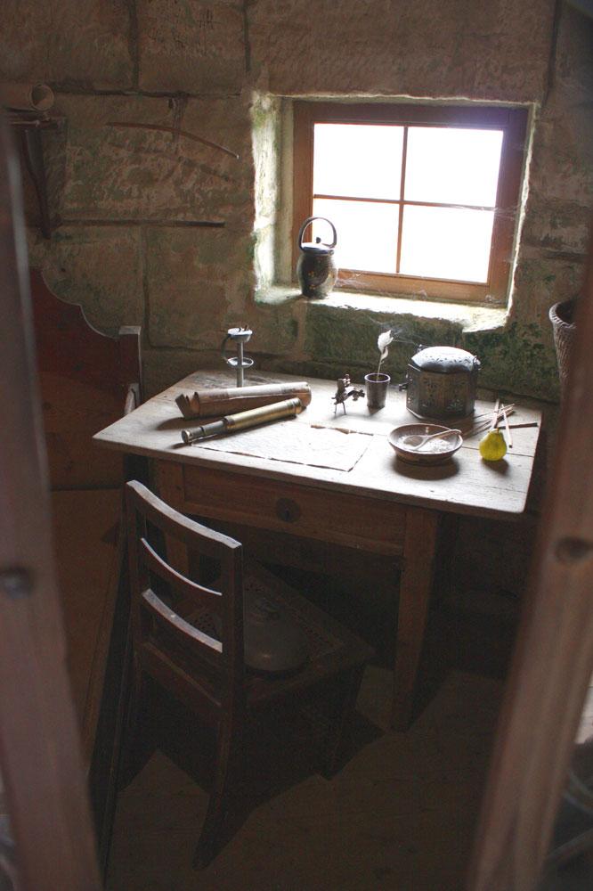 Raum ist in der kleinsten Hütte