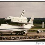 Raumfähre Enterprise...