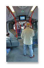 (Raumschiffgefühl) im Bus