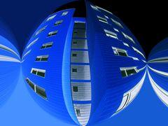Raumstation Blau