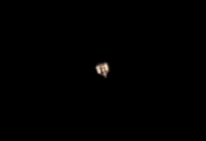 Raumstation ISS am 15.12.2004