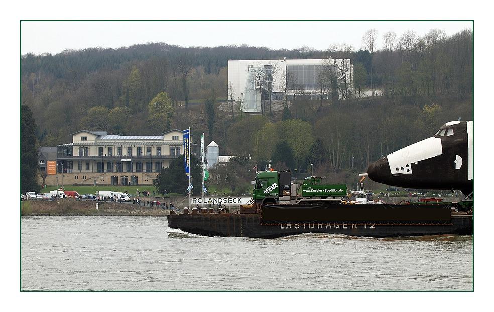 Raumtransport an Rolandseck