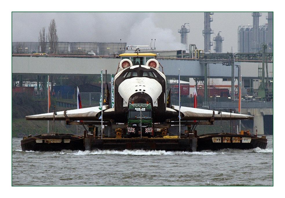 Raumtransport in Wesseling