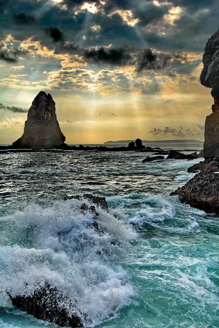 Ray Of Light at Papuma Beach*