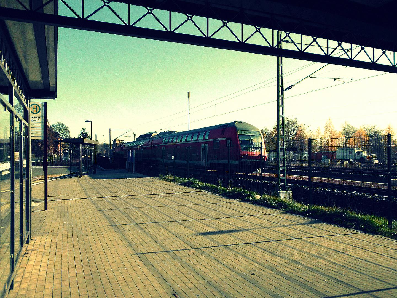 RB 30 nach Zwickau (Sachs) Hbf